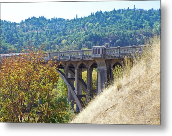 Overpass Underpinnings Metal Print