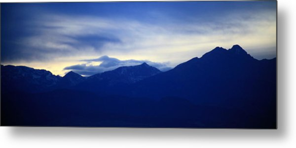 Overview Metal Print by Augustina Trejo