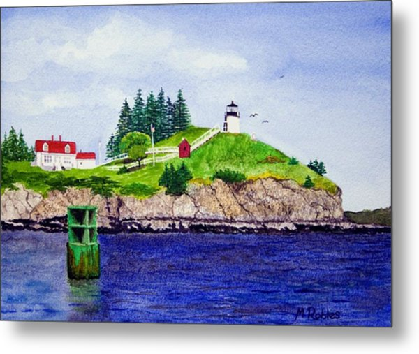 Owls Head Lighthouse Metal Print