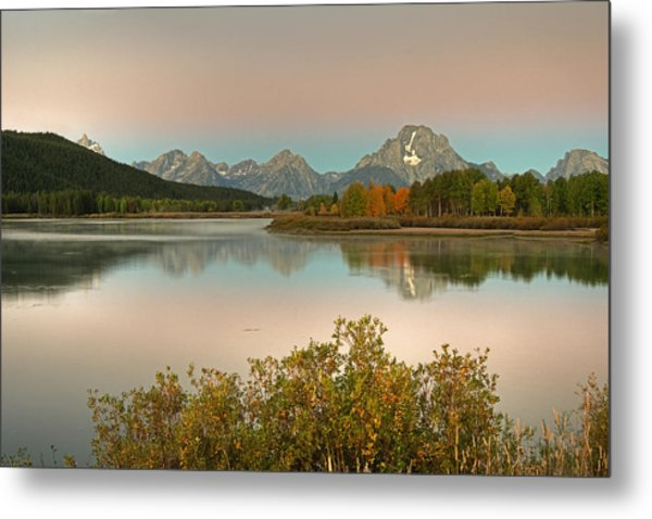 Metal Print featuring the photograph Oxbow Bend by Gary Lengyel