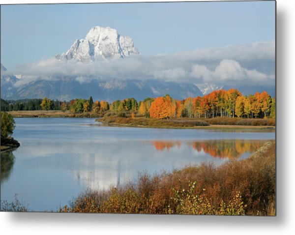 Oxbow Bend  Metal Print