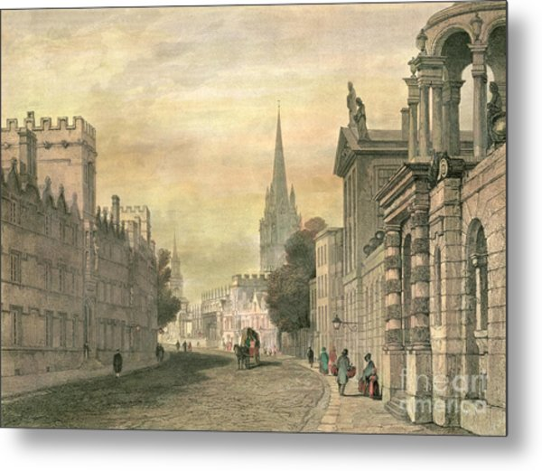 Oxford Metal Print