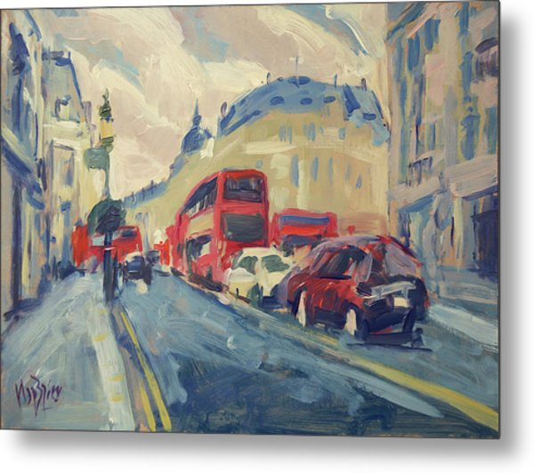 Oxford Street Metal Print