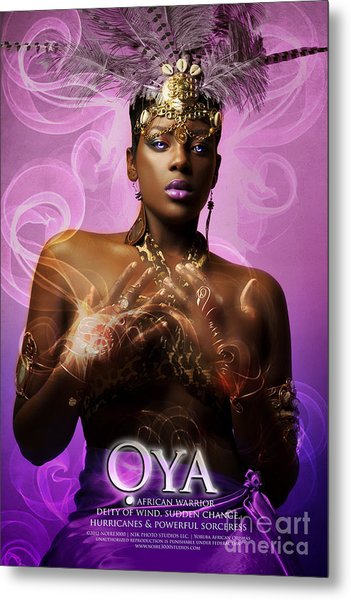 Oya Metal Print by James C Lewis