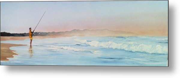 Oyster Bay Morning Metal Print