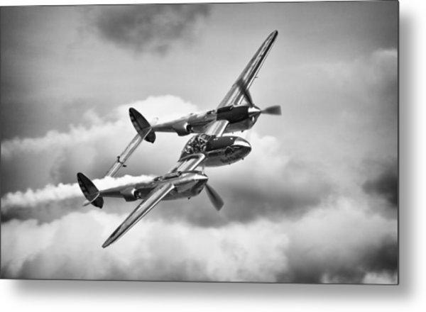 P-38 Lightning Metal Print