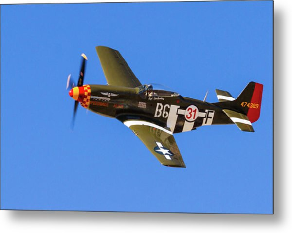 P-51 Speedball Alice Metal Print