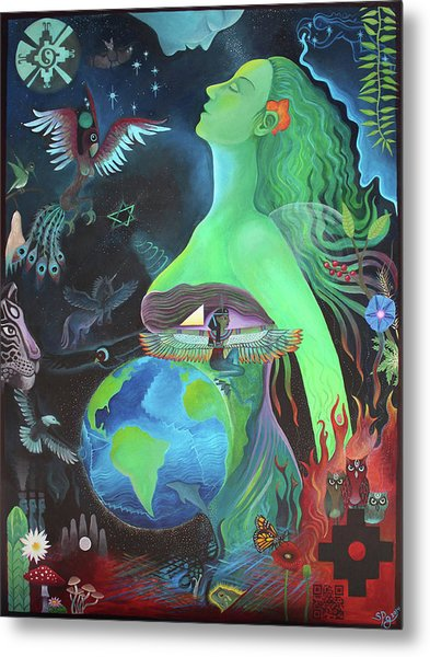 Pachamama Metal Print by Sarah Grubb