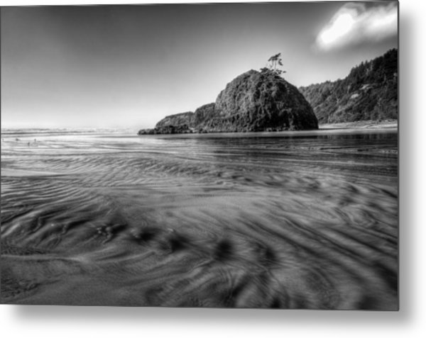 Pacific Coast Tide Metal Print by Drew Castelhano