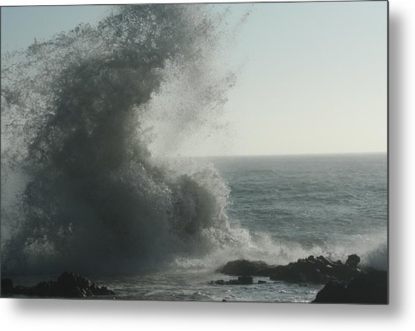 Pacific Crash Metal Print