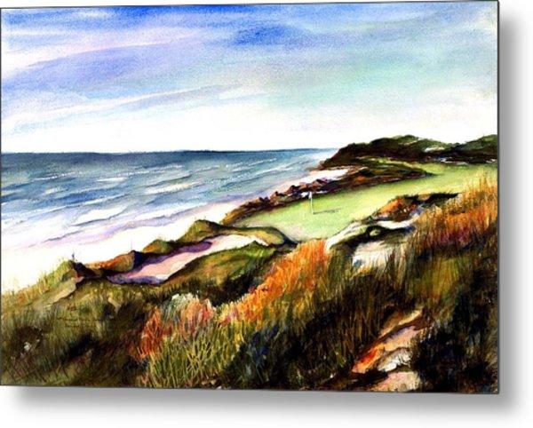 Pacific Dunes Golf Course Metal Print