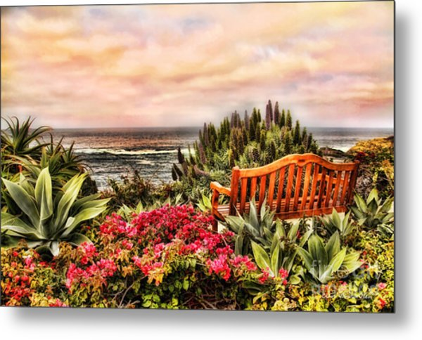 Pacific Ocean View Metal Print