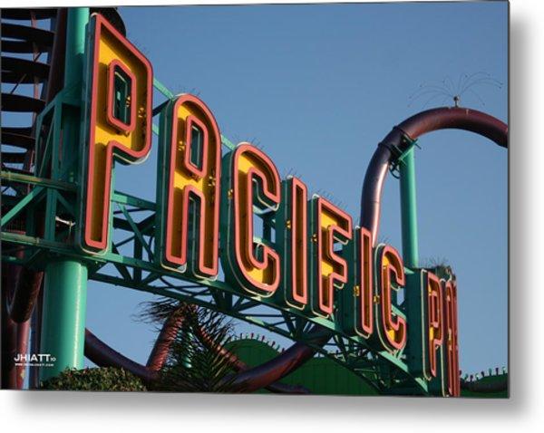 Pacific Park Metal Print