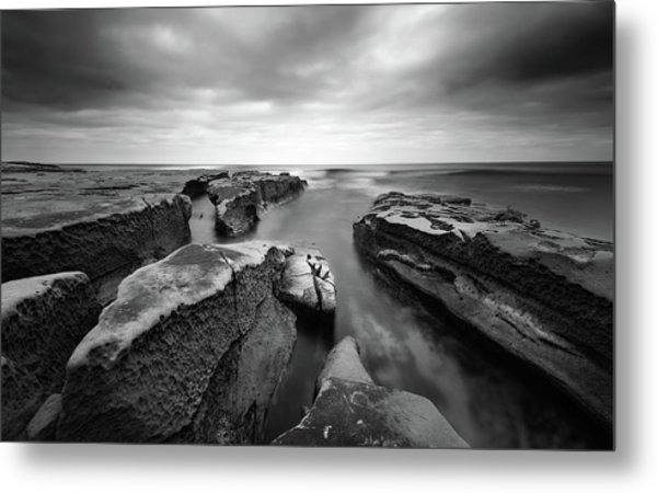 Pacific Reef Metal Print by Joseph Smith