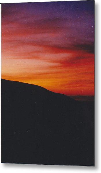 Pacific Sunset I Metal Print