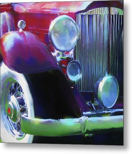 Packard Close Up Metal Print by David King