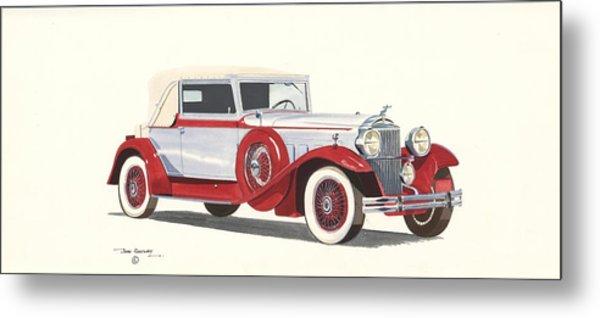 Packard Coupe Roadster 1932 Metal Print by John Kinsley