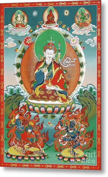 Padmasambhava Metal Print