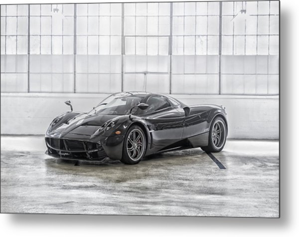 Metal Print featuring the photograph Pagani Huayra by ItzKirb Photography