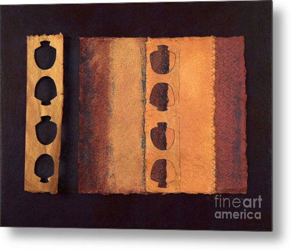 Page Format No 3 Tansitional Series   Metal Print