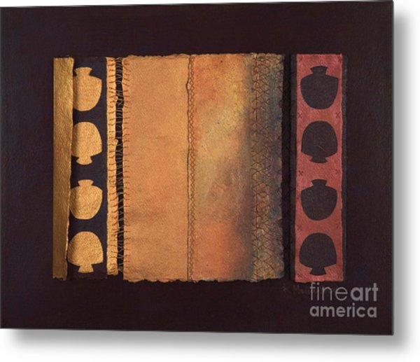 Page Format No.4 Tansitional Series  Metal Print