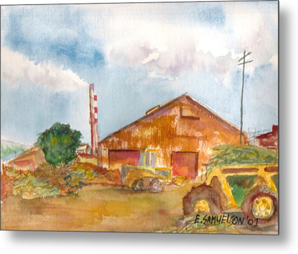 Paia Mill 3 Metal Print
