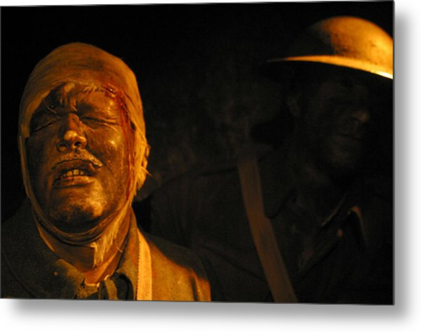 Pain You Could Not Understand Metal Print by Jez C Self