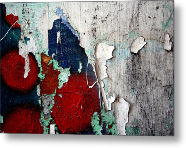 Paint Chips Metal Print by Jason Hochman