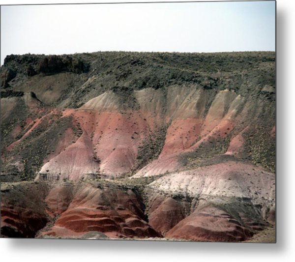 Painted Desert  Arizona Metal Print by Jeanette Oberholtzer