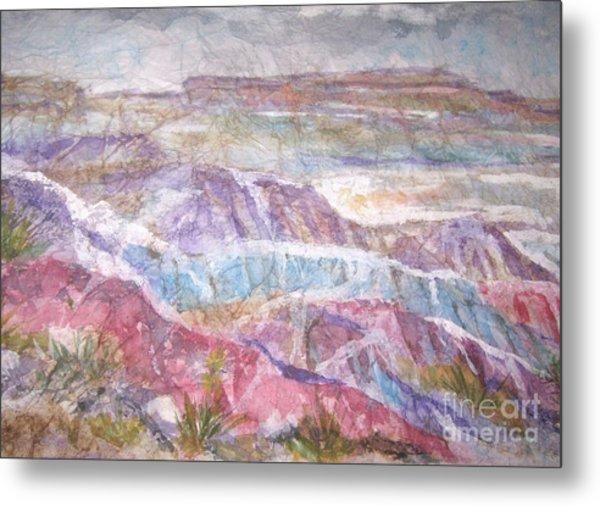 Painted Desert Metal Print