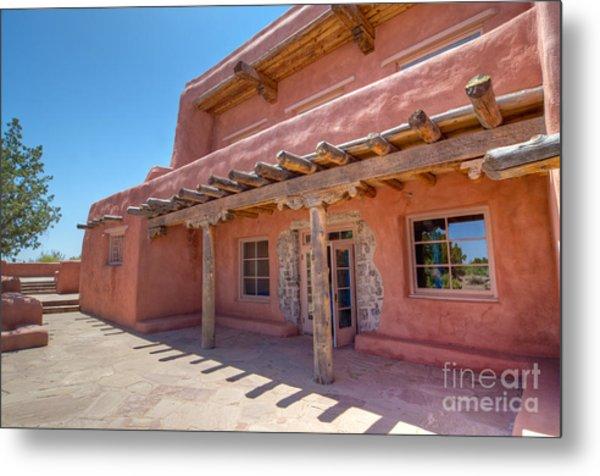 Painted Desert Inn Back Terrace Metal Print