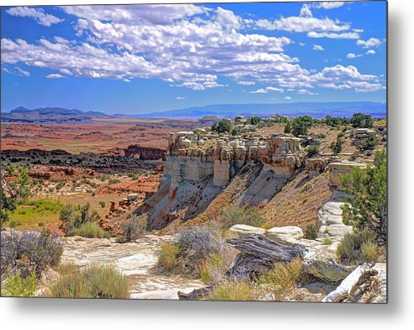 Painted Desert Of Utah Metal Print