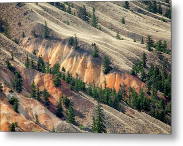 Painted Hills Metal Print