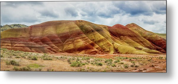 Painted Hills Panorama 2 Metal Print