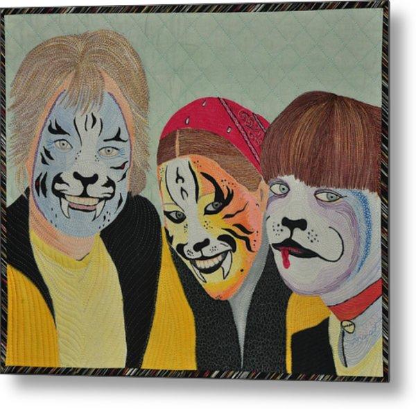 Painted Ladies Metal Print
