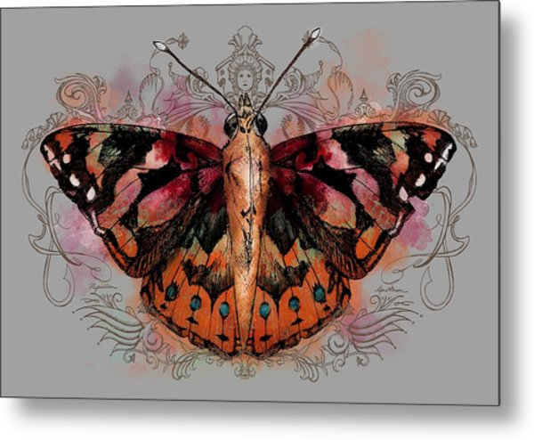 Painted Lady II Metal Print
