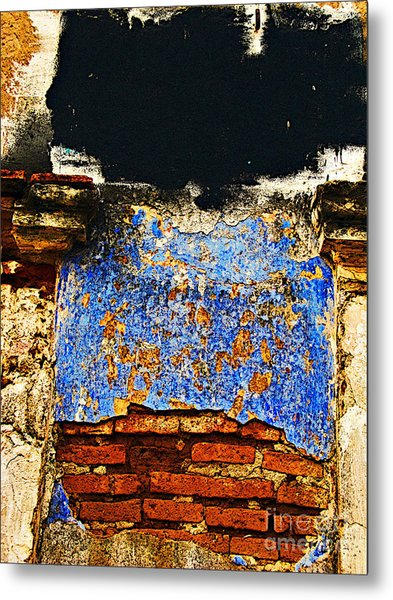 Painter's Wall By Darian Day Metal Print by Mexicolors Art Photography