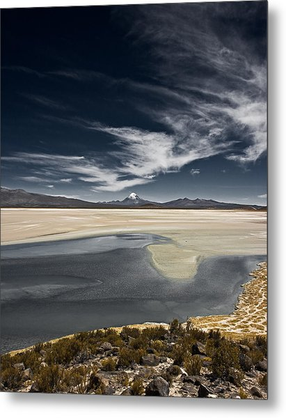 Sajama In The Distance Metal Print
