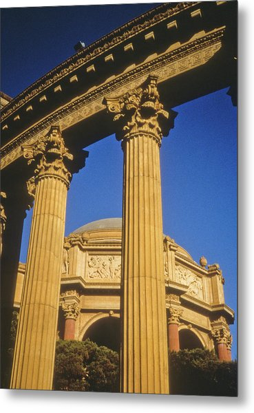Palace Of Fine Arts, San Francisco Metal Print