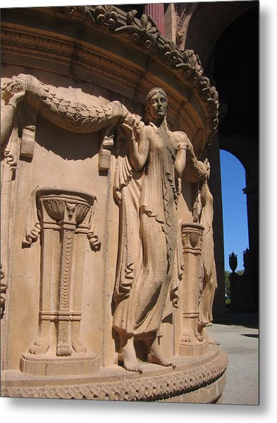 Palace Of Fine Arts Maiden In San Francisco Metal Print