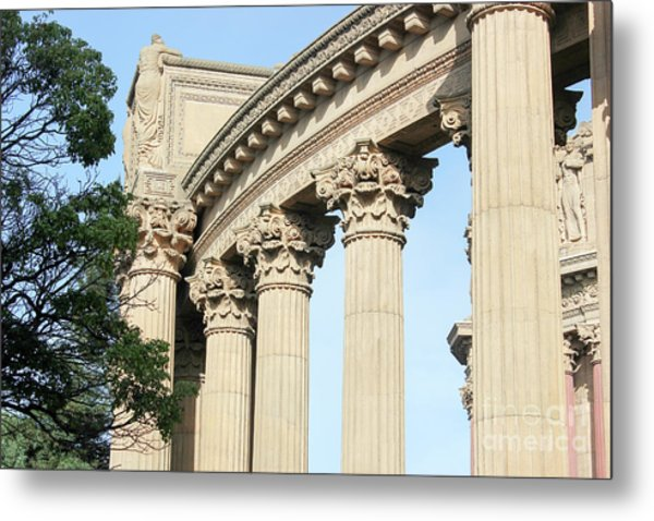 Palace Of Fine Arts Metal Print