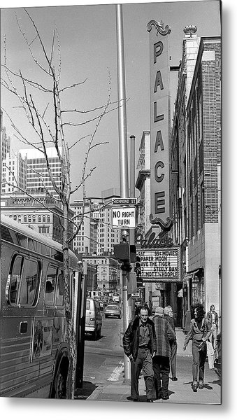 Palace Theatre, 1974 Metal Print