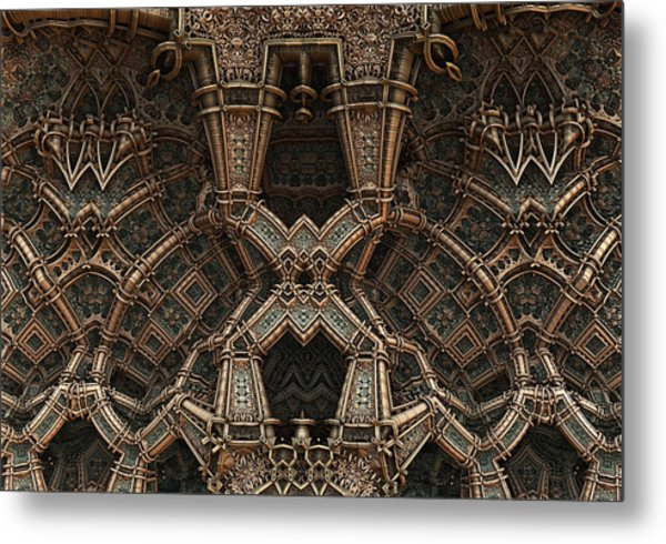 Palace Wall Metal Print