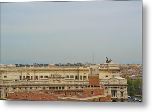 Palazzo Di Giustizia Metal Print by JAMART Photography