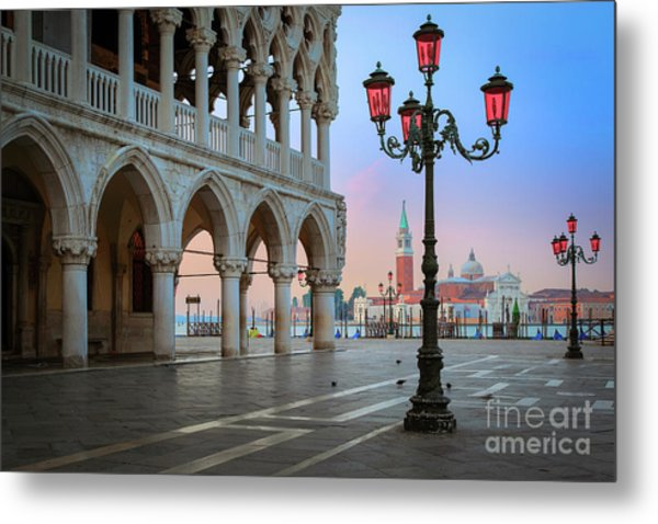 Palazzo Ducale Metal Print