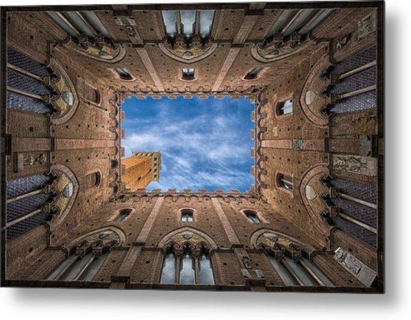 Palazzo Pubblico - Siena - Nv Metal Print