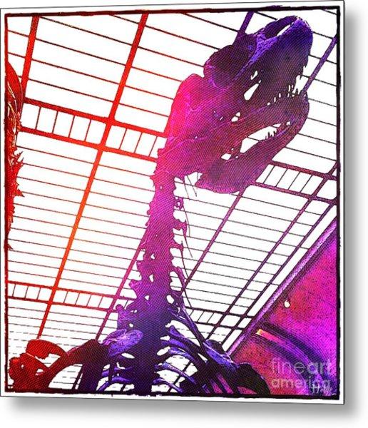 Paleo Rex Metal Print