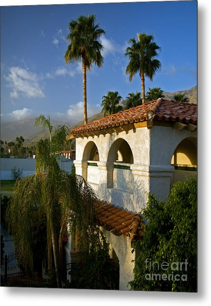 Palm Springs Morning Metal Print
