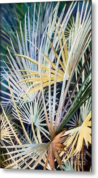 Palms   Original Metal Print