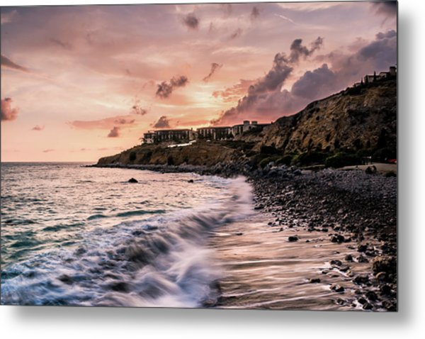 Palos Verdes Sunset Metal Print by Seascaping Photography